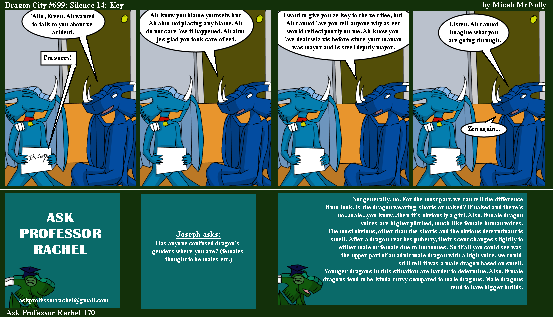 699. Silence 14: Key (With Ask Professor Rachel 170)
