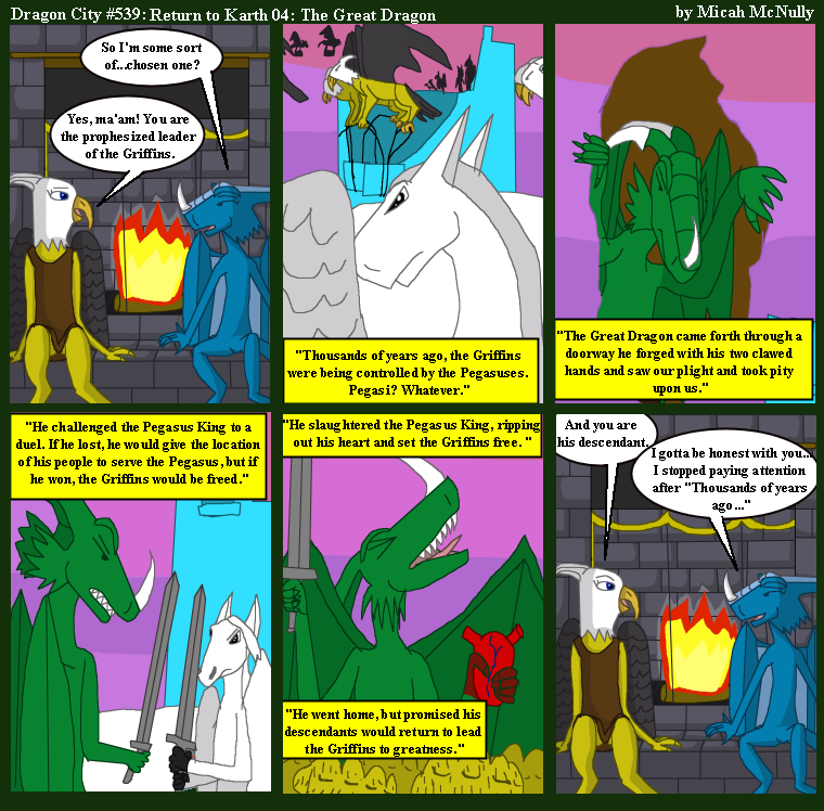 539. Return to Karth 04: The Great Dragon