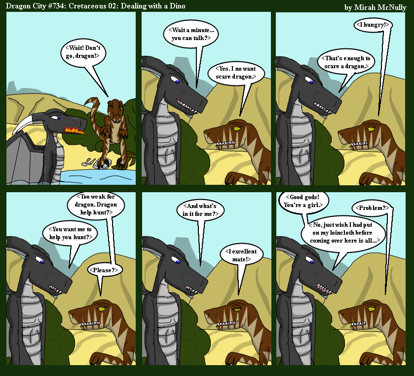 734. Cretaceous 02: Dealing with a Dino