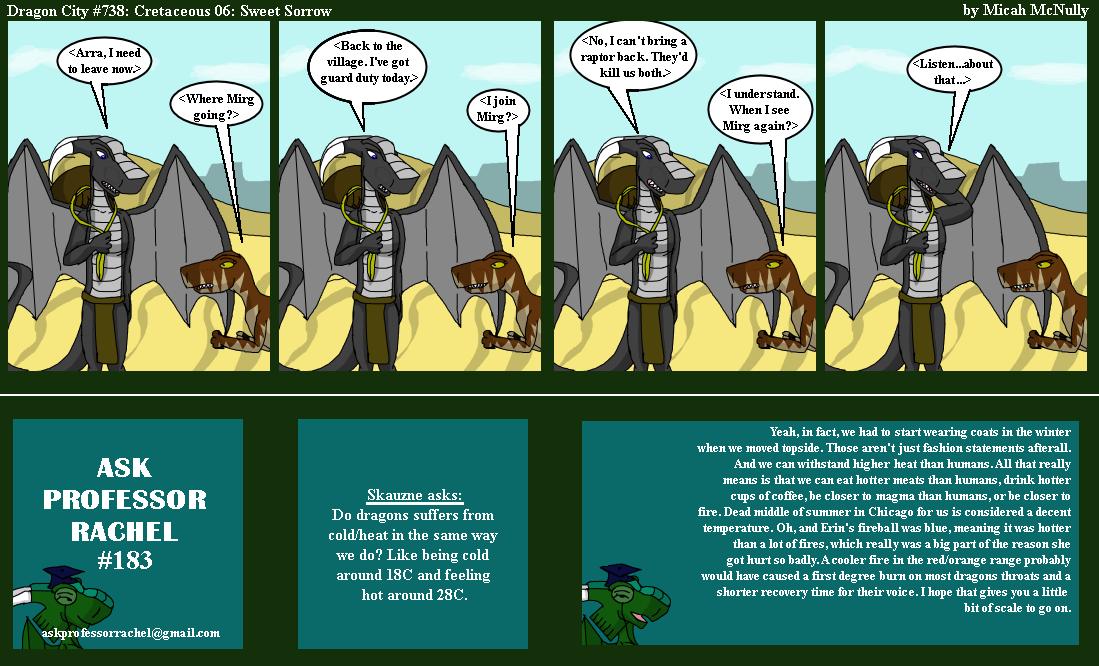 738. Cretaceous 06: Sweet Sorrow (With Ask Professor Rachel 183)