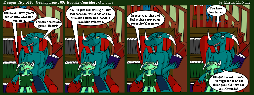 620. Grandparents 09: Beatrix Considers Genetics