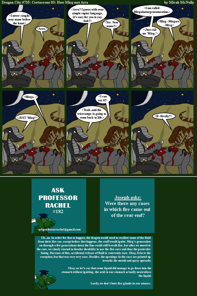 735. Cretaceous 03: How Mira met Arra (With Ask Professor Rachel 182)