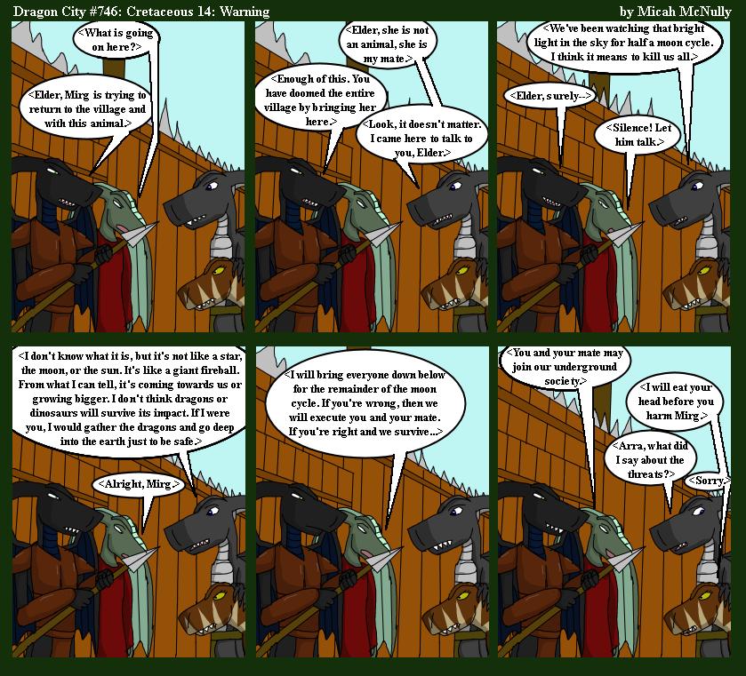 746. Cretaceous 14: Warning