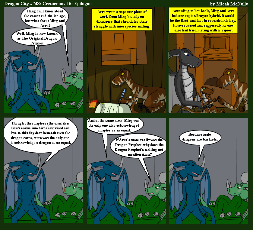 748. Cretaceous 16: Epilogue