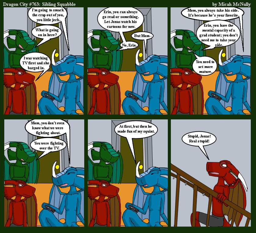 763. Sibling Squabble