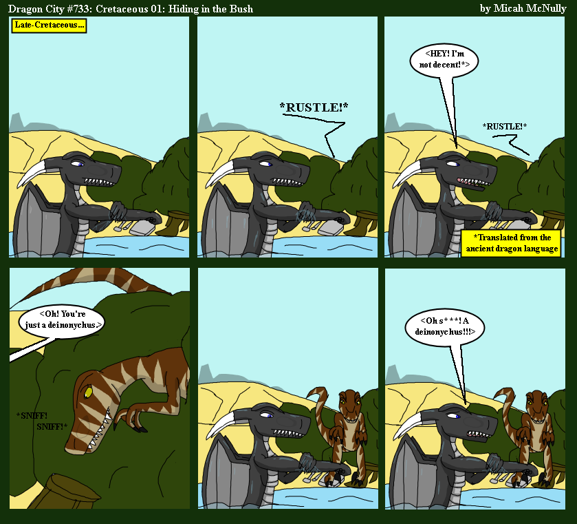 733. Cretaceous 01: Hiding in the Bush