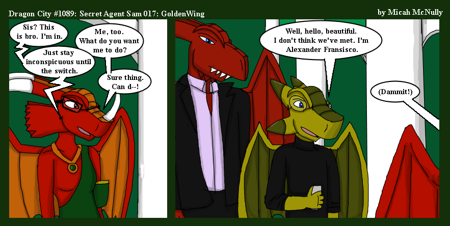 1089. Secret Agent Sam 017: GoldenWing